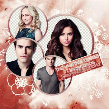 Pack PNG 33: The Vampires Diaries by SwearPhotopacksHQ