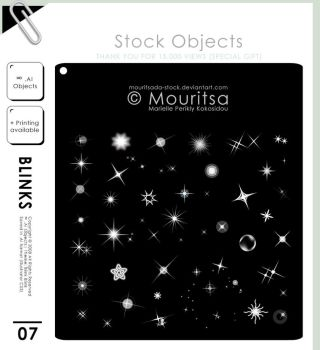 Object Pack - Blink Blink by MouritsaDA-Stock