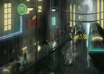 Streets of Tartarus by Aon616