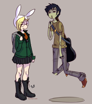 AT- Daria and Trent by Laurangeblossom