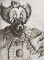 Pennywise the Dancing Clown! by BlueStripedRenulian