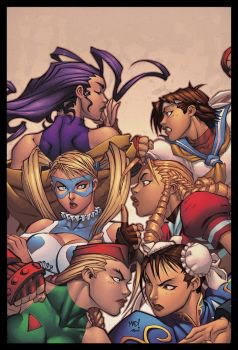 Street Fighter Hotties by MAD! by Ross-A-Campbell