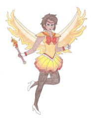 Sailor Moltres by DoctorEvil06