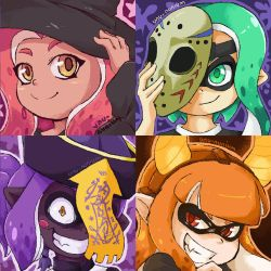 Splatoon - Splatoween Icons by Unu-Nunium
