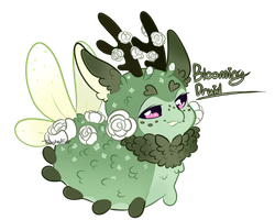 Pacadvent: Blooming Druid Auction Closed! by ToastedFur
