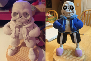 Undertale - Sans by CubedCake