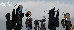 OCs In Waiting by GingaAkam