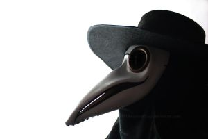 Plague Doctor III by DraculeaRiccy