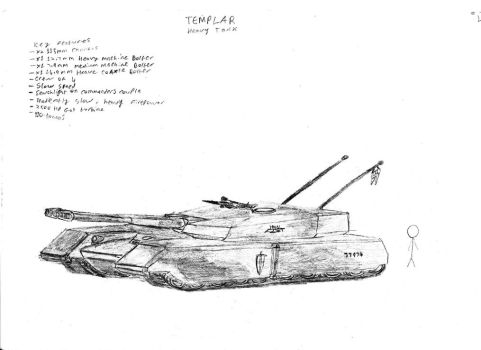 Templar Heavy Tank by Jay-Hawkeye