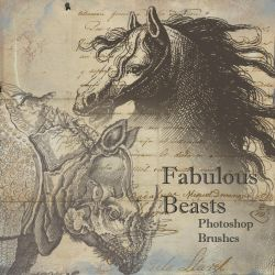 Fabulous Beasts Brushes by hogret