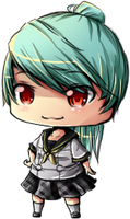 Chibi Labrys Re-color by Antares25
