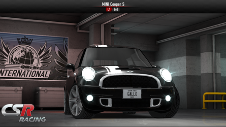 CSR Racing Mini Cooper S by Davi80
