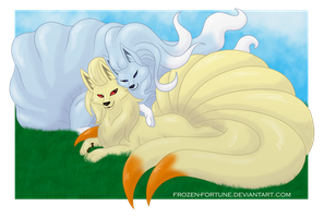 Opposites attract by Frozen-Fortune