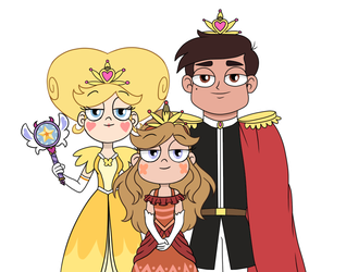 Royal Family King Queen Princess Butterfly Dia by Bel-TheSweet-Sylveon