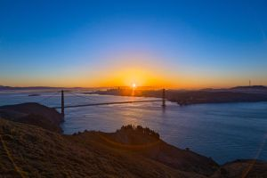 San Francisco Sunrise II by somadjinn