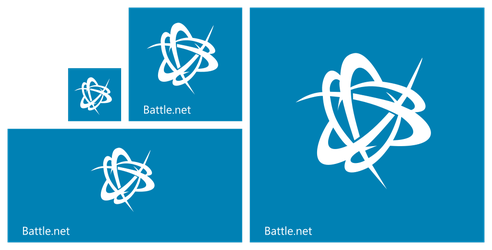 Battle.net Windows 8.1 Start Tile Set by Necromod