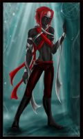 Xarzil the drow -for Adre3es- by Zardra