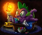 Spike's New Comic Night by harwicks-art