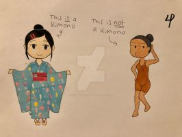 Kimonos are not underwear