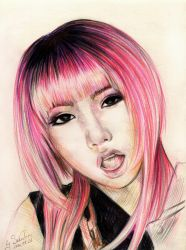 Minzy 2NE1 Crush by SakuTori