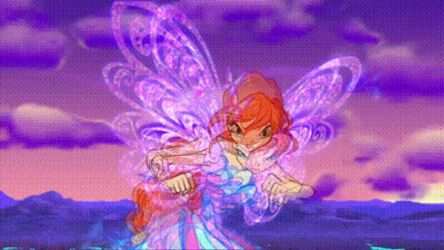 Power of the flame butterfly GIF by ArtsyCraft101