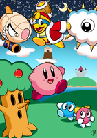 Kirby's Dream Land by Jdoesstuff