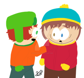 Cut it out Cartman (Redraw) by Noizy-Bunny