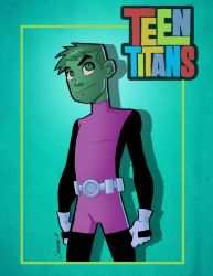BeastBoy by Salvador-Raga