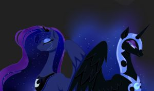 Luna And Her Nightmare by pinkiecitrine