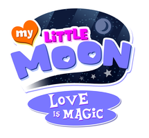 My Little Moon Love Is Magic Logo by NuryRush