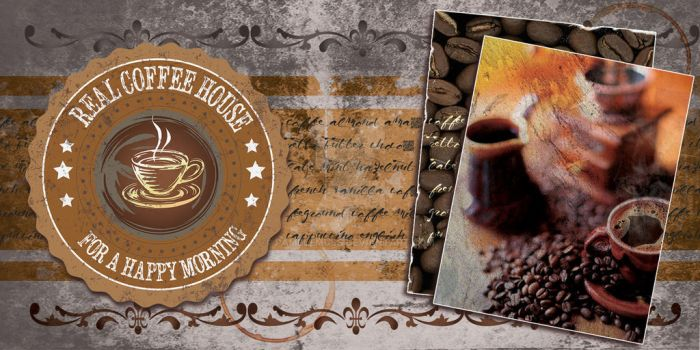 Coffee Flyer by Pamplemuss