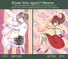 Draw this again! by Nifffi
