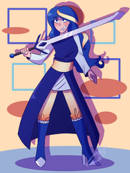 [Art Fighters] Luna by Sheepaleepz