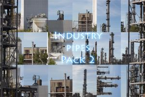 Industry pipes Pack 2 by Wolves-PSD