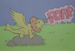 Winged Narlion by WendyW