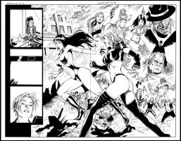 Vampirella pencils page 06-07 by wgpencil