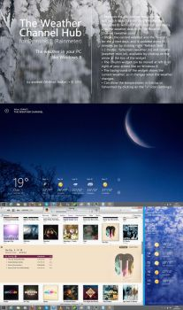 The Weather Channel Hub for Omnimo 5 (Rainmeter) by wifun2012