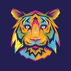 Mad Tiger by madpepperdesign