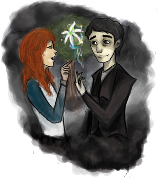 Lily and Snape by The6devils6number6