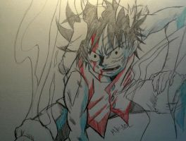 Luffy Sketch by MikeES