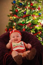 Bryley First Christmas by SpAzZnaticShuRIken