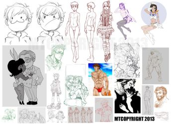 March29thSketchdump-pt1 by m-t-copyright