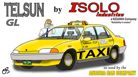 Telsun GL by ISOLO Industries by cabcat
