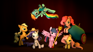 Just The Mane 6 by OneSleeve