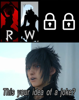 Noctis reacts to BBTAG DLC by EpicLinkSam