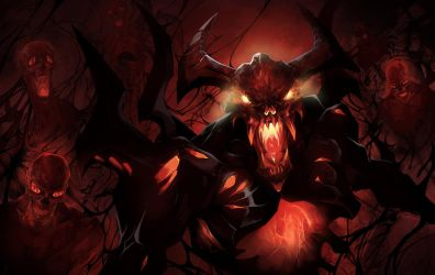 dota2 Shadow Fiend by biggreenpepper