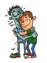 Hug a Zombie Day by Haaspodge