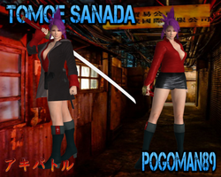 Tomoe Sanada by SSPD077 and Pogoman89 (UPDATED) by faytrobertson