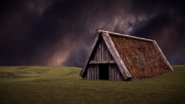 Viking House by Cortaderia