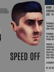 Alex Costume and Face Reference Card by yupjaylovescomics